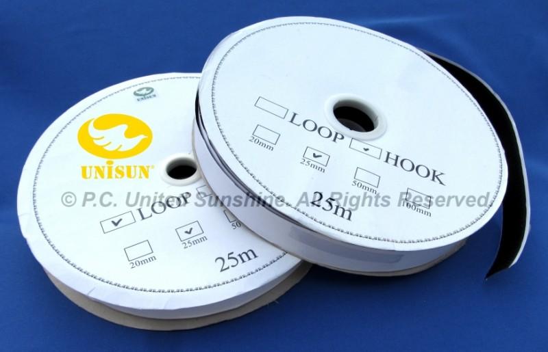 VELCRO TAPE SELF-Adhesive 1″ x 25m Hook & Loop Set