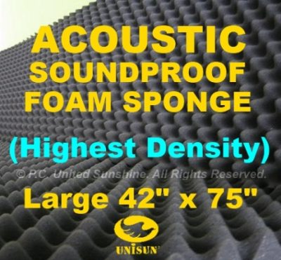 Acoustic Soundproofing Foam Panel